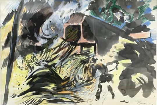 Artiste peintre Pignon présent à la Galerie Cortade Art