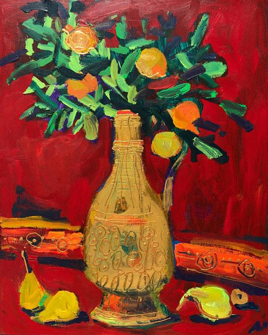 Alakbarli Maryam peintre, Galerie Cortade Art