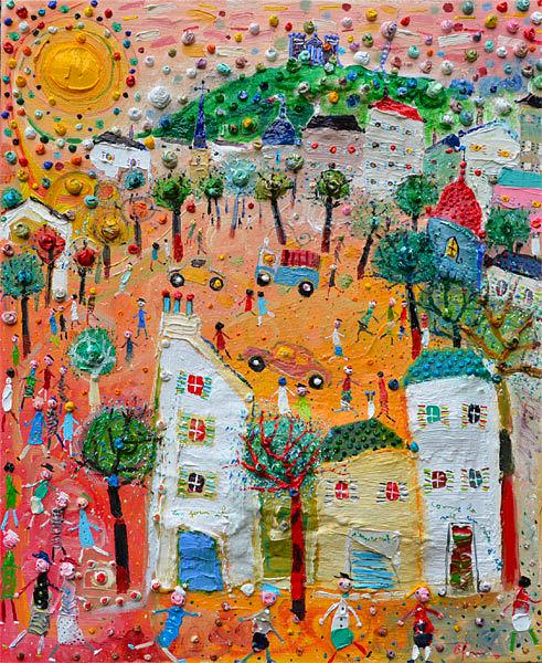 Peintre Eric Chomis, Galerie Cortade Art
