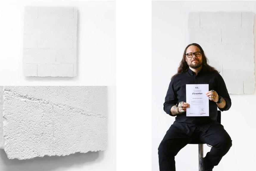 LE MUR by Moun, une toile qui se prend pour un mur… ou l'inverse !