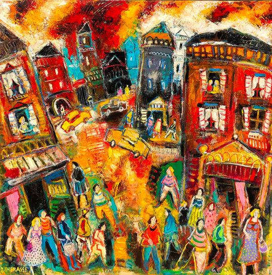 Daniel Therrasse Peintre, Galerie CortadeArt